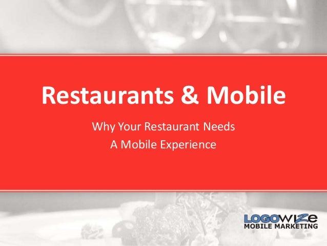 Restaurants apps