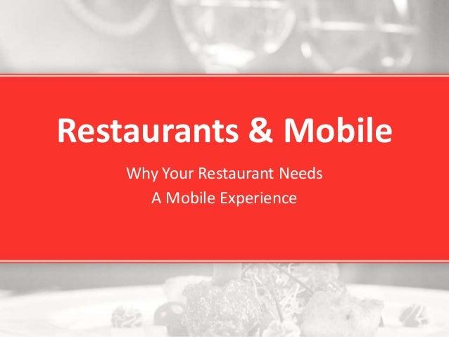 Restaurants v3apps