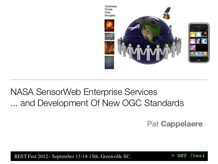 NASA SensorWeb Enterprise Services