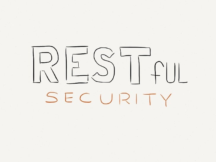 RESTful Security