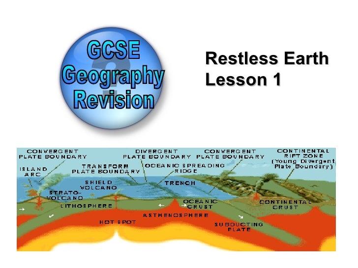 Restless EarthLesson 1