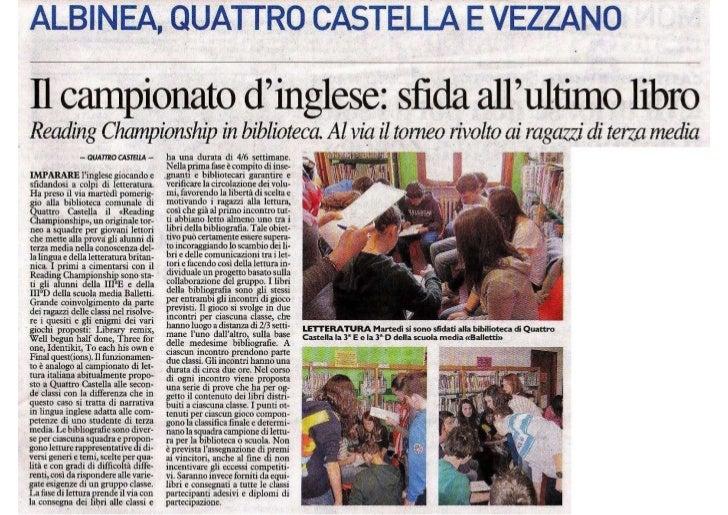 Articolo Resto carlino 29.03.2012
