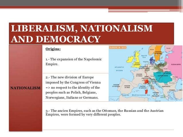 Restoration Liberalism And Nationalism