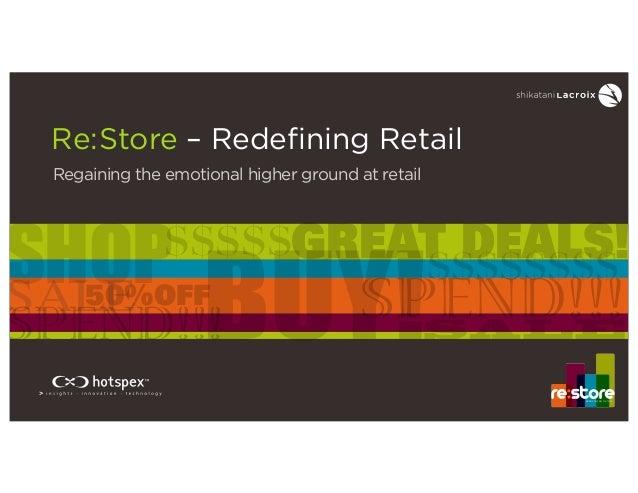 Re:Store - Redefining Retail