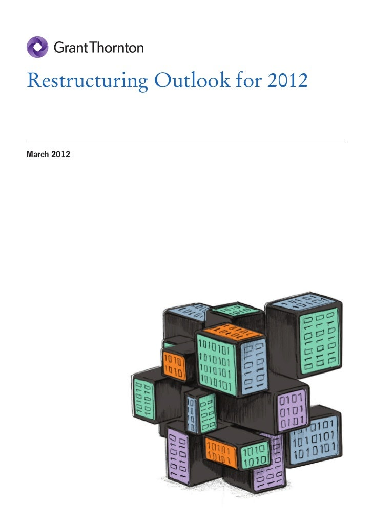 Restructuring Outlook for 2012March 2012