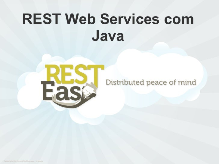 REST Web Services com        Java