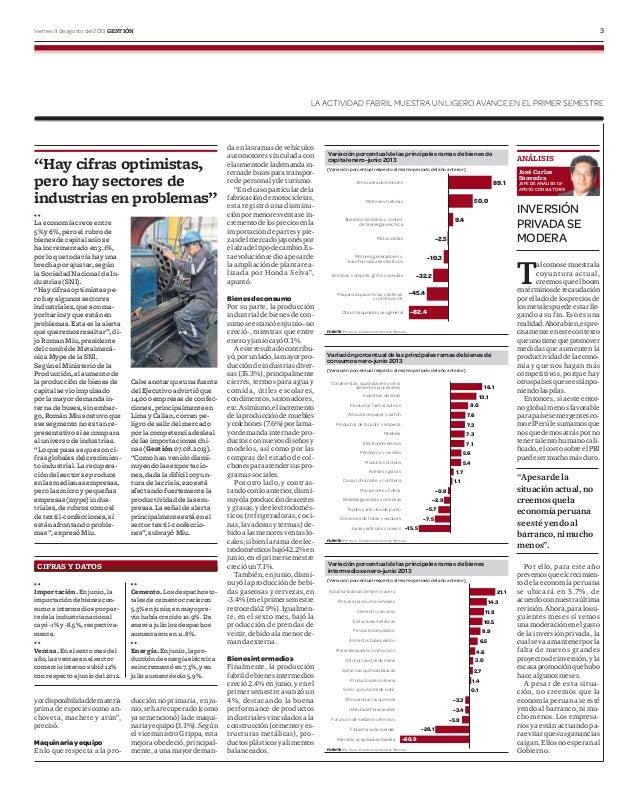Resultado del sector industrial jun 2013 ii
