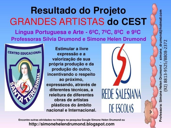 Resultado do Projeto                                                                                     Professora: Simon...