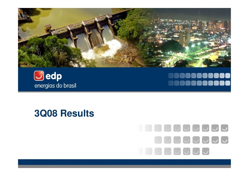3Q08 Results