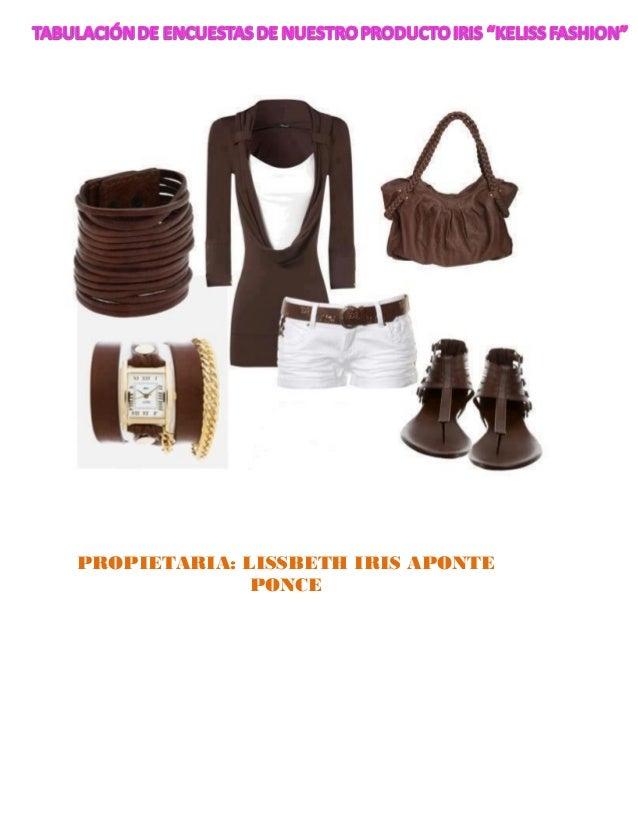 PROPIETARIA: LISSBETH IRIS APONTE              PONCE