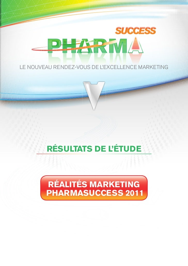 Resultat enquete pharmasuccess 2011