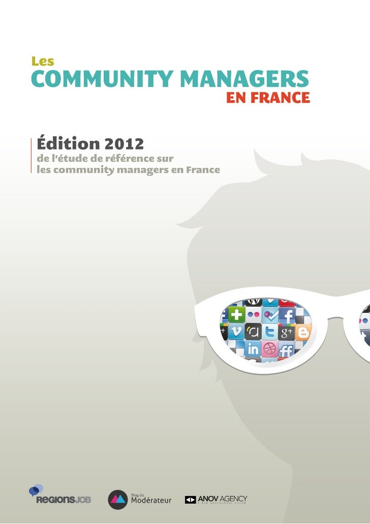 Les community managers en France 2012