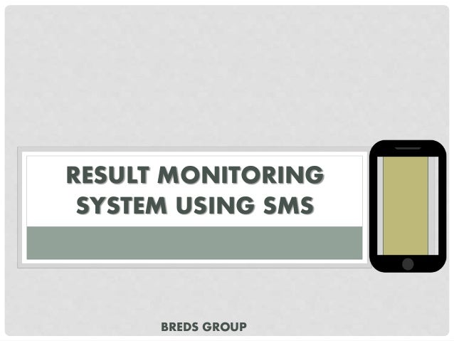 Inventory and monitoring system thesis proposal