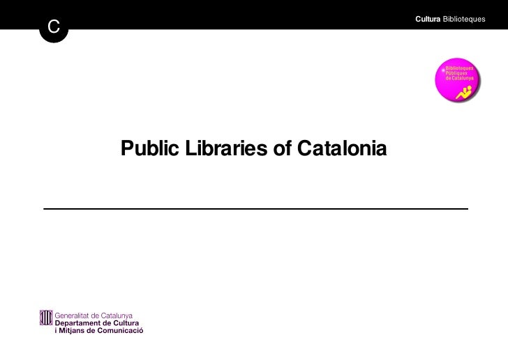 Public Libraries of Catalonia