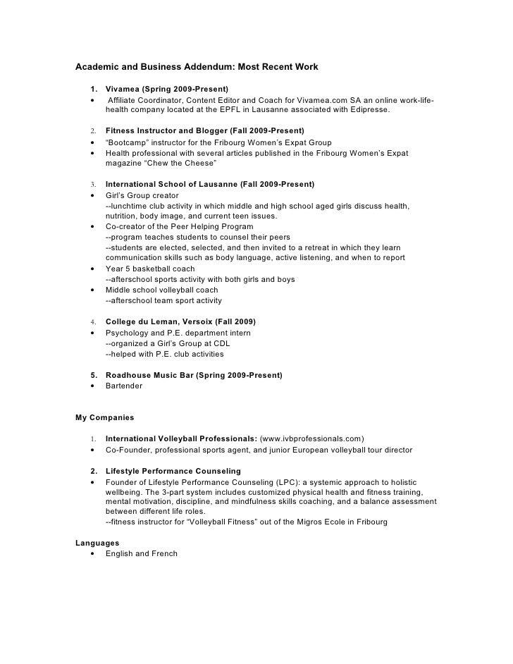 Basketball Coach Resume Example. Coach Resume Samples Visualcv