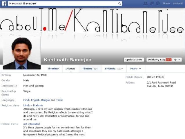 Creative Resume ,Kantinath Banerjee