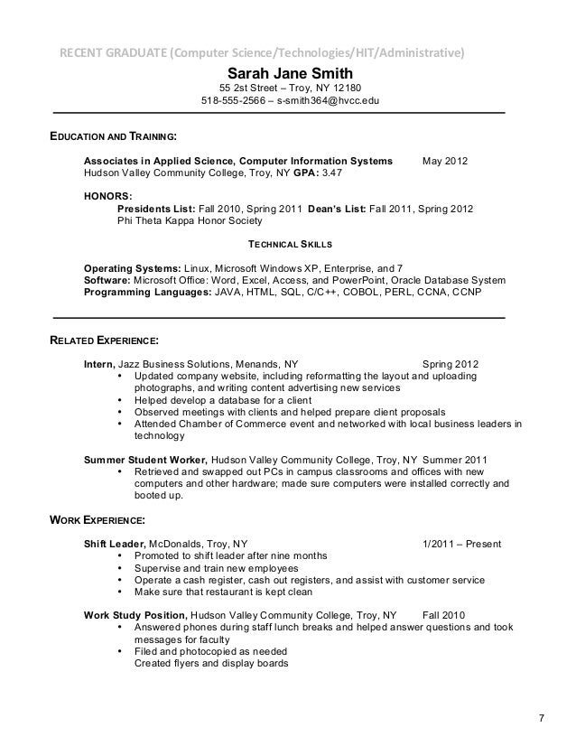 how to list incomplete masters degree on resume