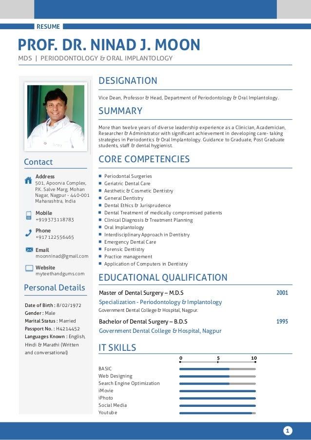 dental cv example cv dentist uk resume example education sample ...