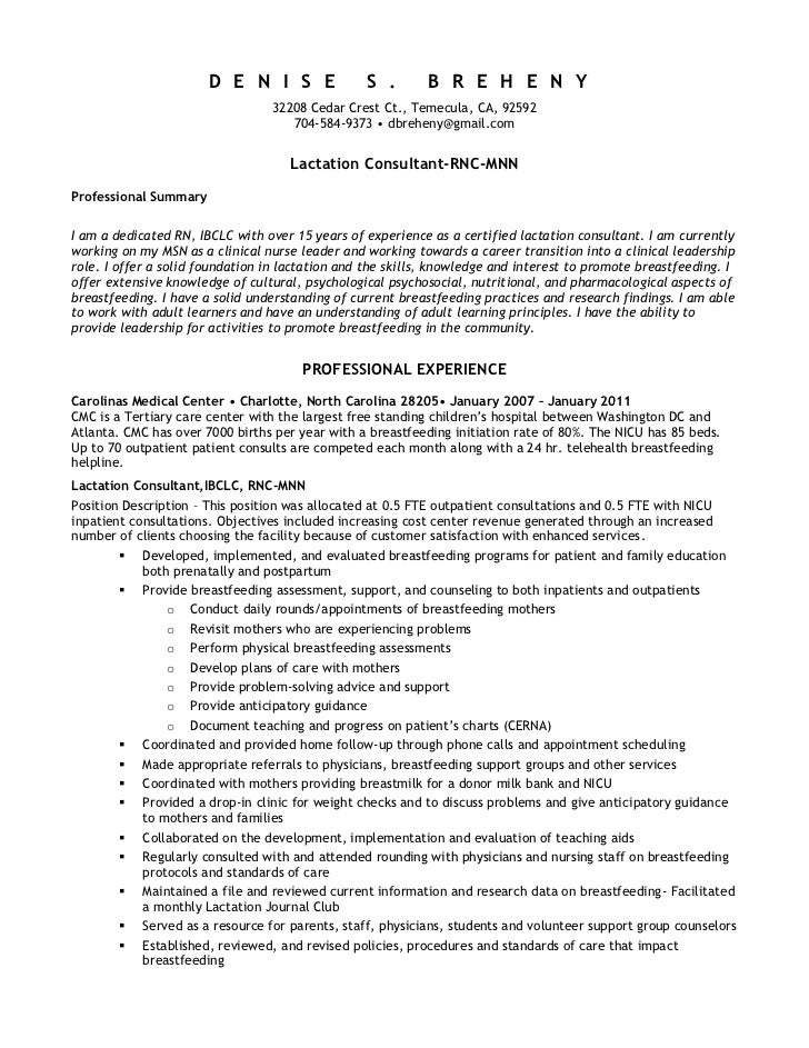 Rn Resume Cover Letters