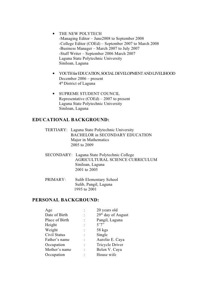 resume for primary school 28 images primary school cv