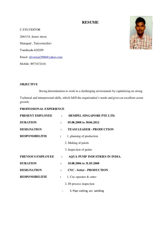 resume star