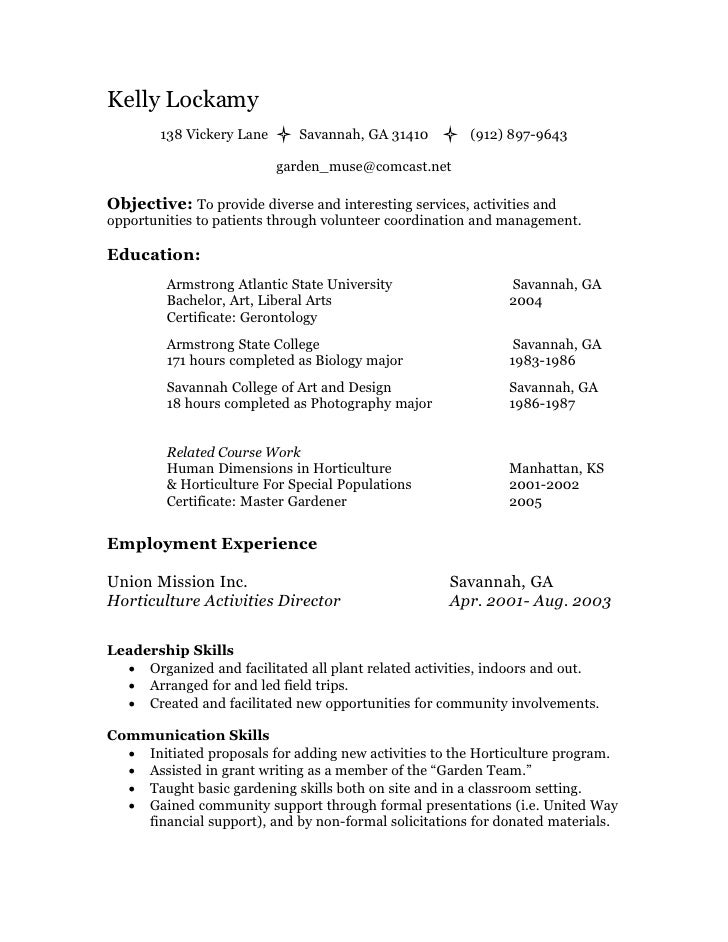 Volunteer Resume Template Resume Template BW Formal Formal BW