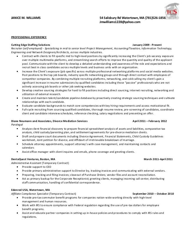 resume examples it project manager resume samples human hr