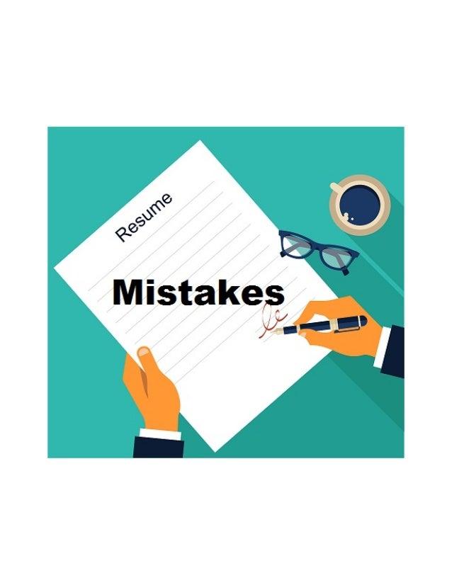 resume क ट प 5 common mistakes