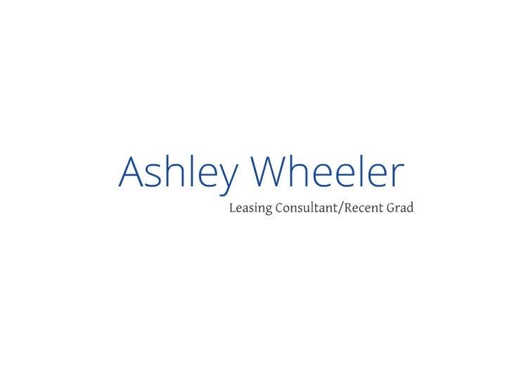 Ashley's Resume