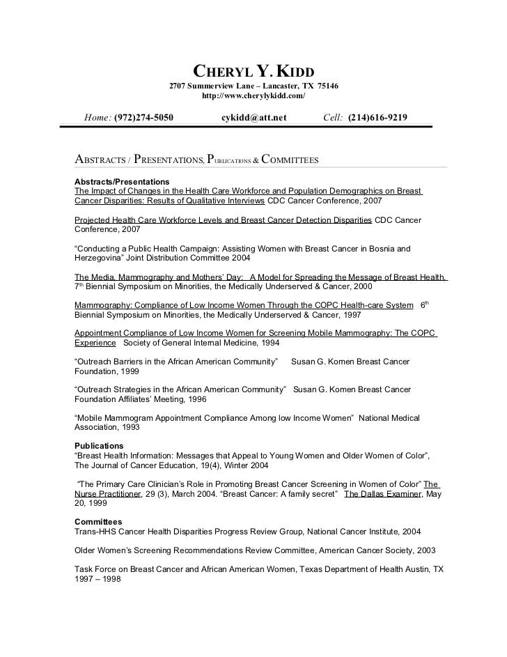 resume in text format