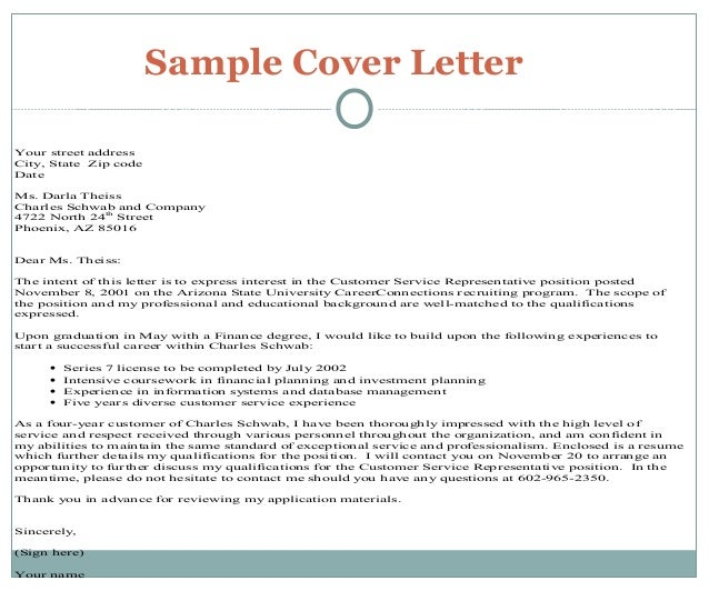 Same Cover Letters