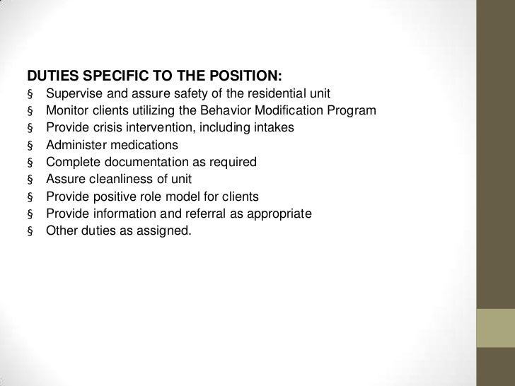 Behavior interventionist resume