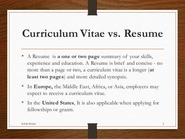 i resume meaning