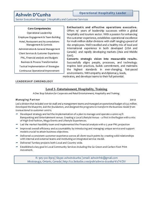 19 cover letter for hospitality careerone confessions