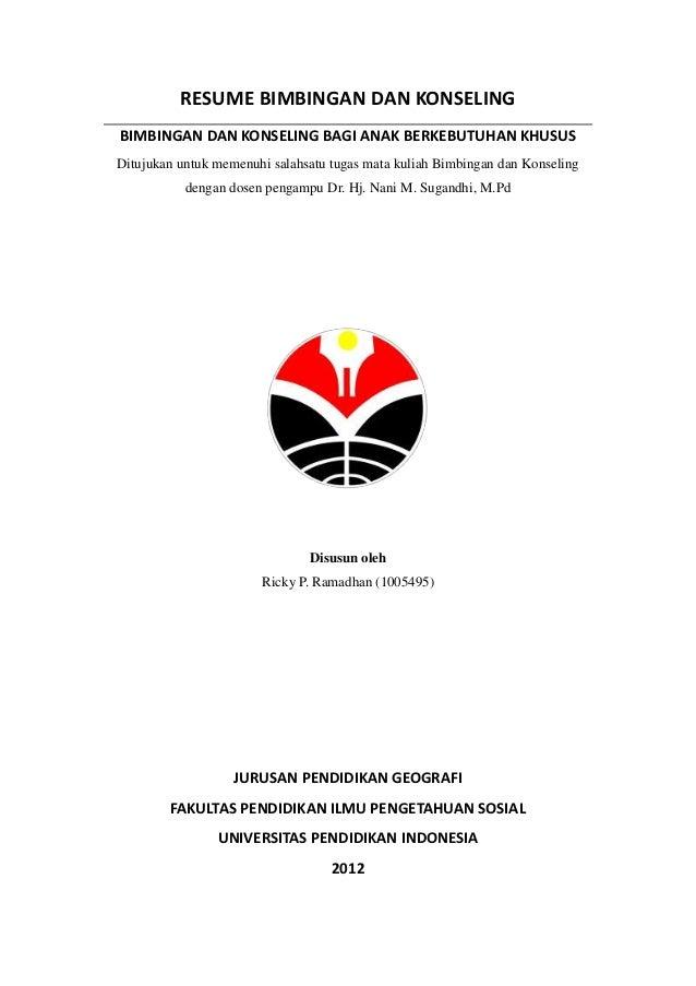 Resume bimbingan dan konseling 5