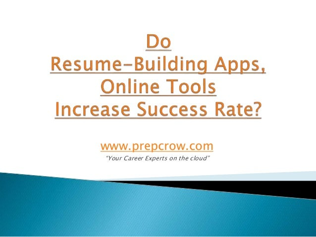 Resume Maker - Write an Online Resume with a few clicks!