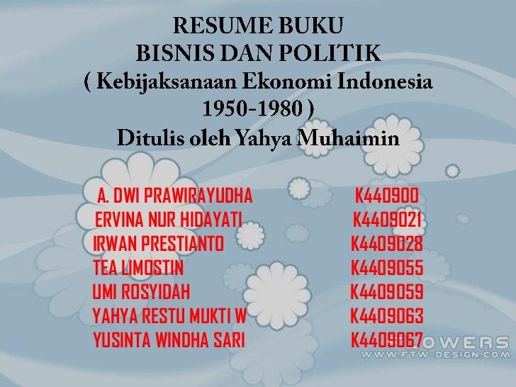Resume bisnis dan politik