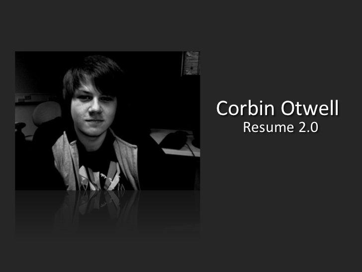Corbin Otwell   Resume 2.0