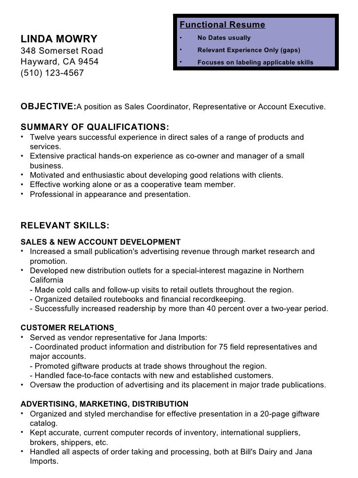 Cold call resume cover