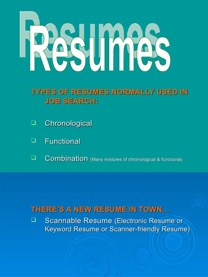 Resume and Coverletter Workshop