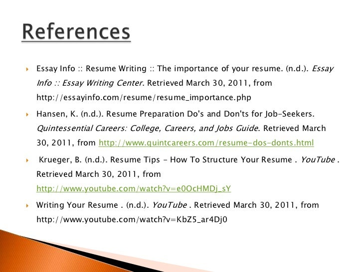 How to Write a Resume: Dos and Don'ts