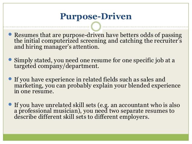 Evaluation - Resume evaluation