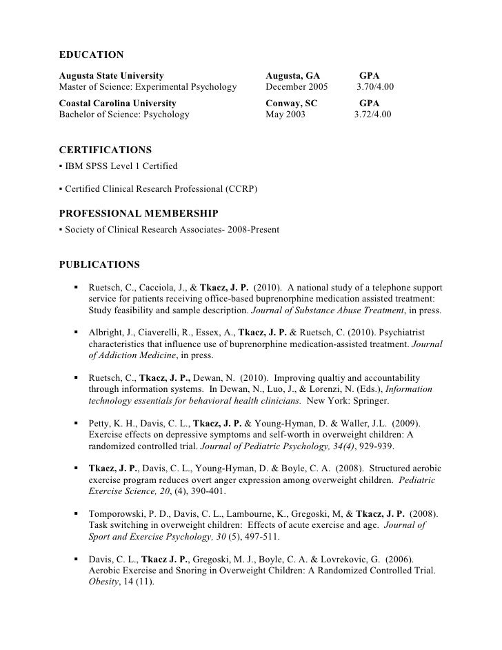 Resident Caretaker Sample Resume] Resident Caretaker Sample ...