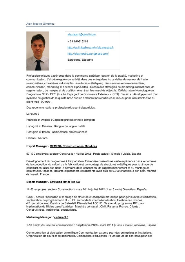 Alex Mestre Giménez                                  alexlaoshi@gmail.com                                  + 34 649615218 ...