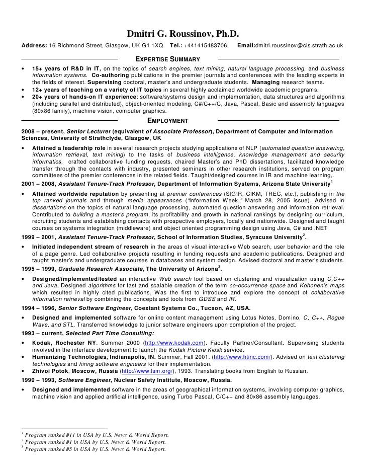 PhD CV - University of Kent