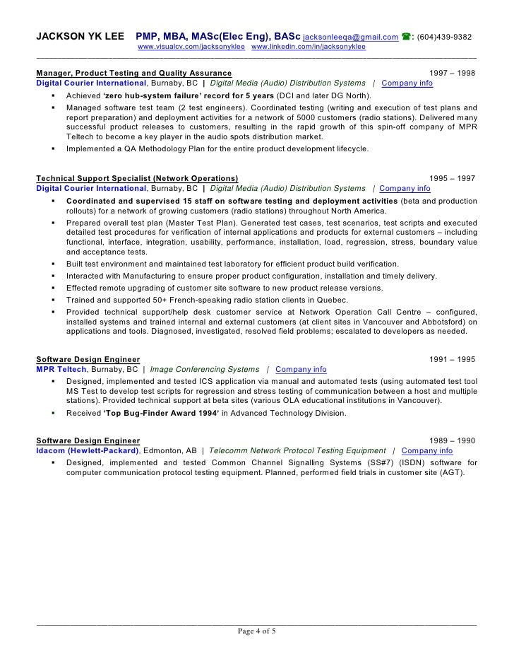 Developed New Features For With A Team Of Resume