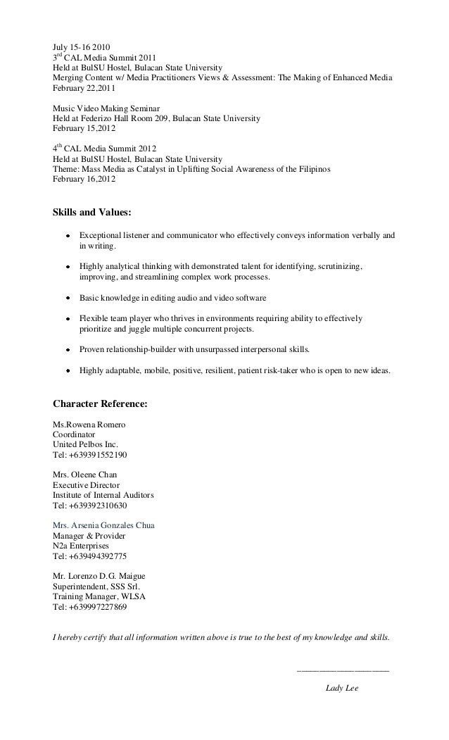 resume for mass communication student 28 images resume