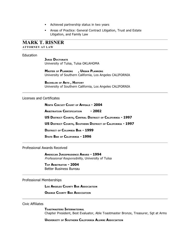 resume m rjuly09 corp counsel