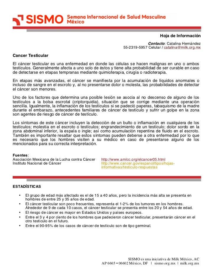 Hoja de Información                                                                            Contacto: Catalina Hernánde...