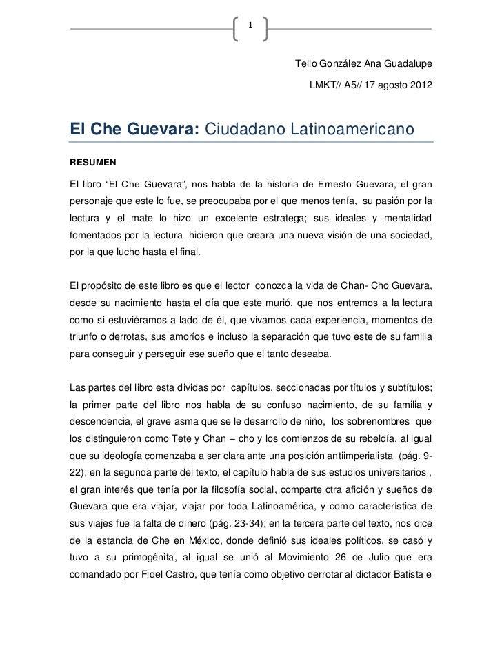 Resumen cheguevara-TELLO120314